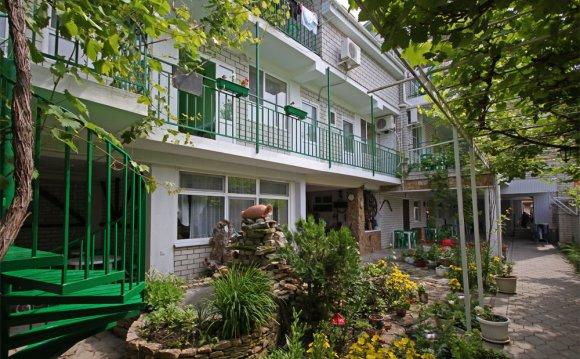 Гостиница Орел в Джемете
