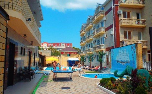 отели и гостиницы анапы