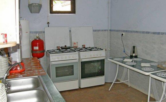 Анапа. Кухня частной гостиницы