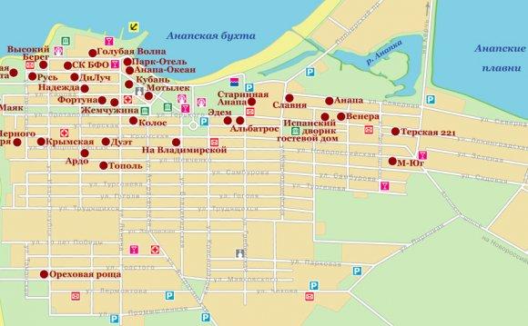 Карта отелей Анапы (316,77 Кб)