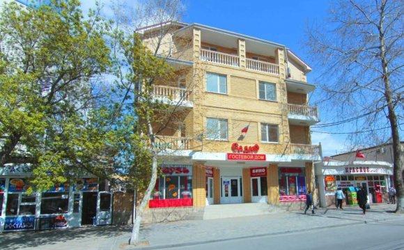 Садко - гостиница, город Анапа