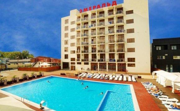 Анапа гостиница с бассейном и детской площадкой